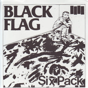 Black Flag ‎- Six Pack NEW 7""