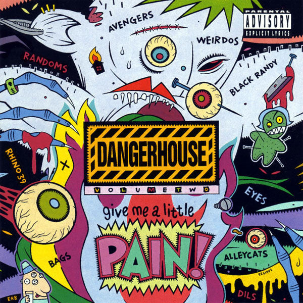 Comp - Dangerhouse Volume Two NEW CD
