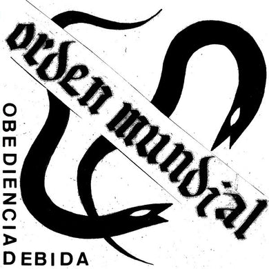 Orden Mundial - Obediencia Debida NEW LP