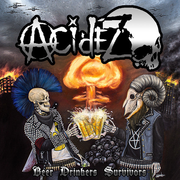 Acidez ‎- Beer Drinkers Survivors NEW CD