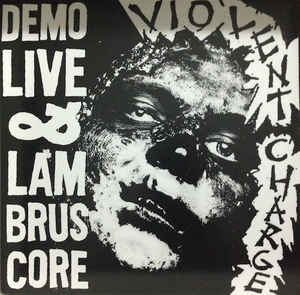 violent charge - demo live & lambruscore USED LP