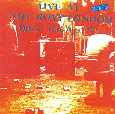 Comp – Live At The Roxy London WC2 (Jan - Apr 77) USED CD