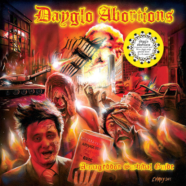 Dayglo Abortions - Armageddon Survival Guide NEW LP