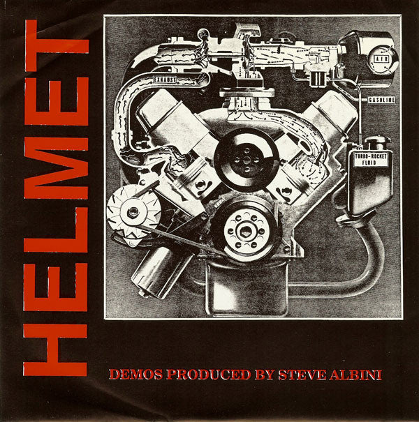 Helmet - Demos Produced By Steve Albini NEW 7