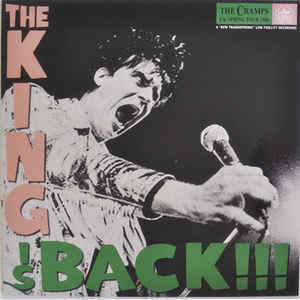 Cramps ‎- The King Is Back NEW LP
