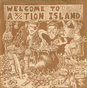 Comp - Welcome To Ax / Ction Island USED 7""