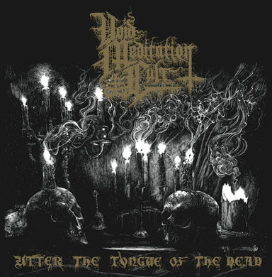 Void Meditation Cult ‎- Utter The Tongue Of The Dead NEW METAL LP