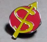 STALIN ENAMEL BADGE