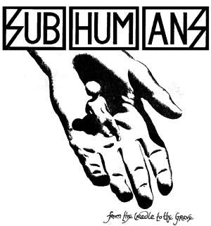 SUBHUMANS CRADLE patch
