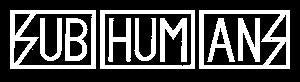 SUBHUMANS LOGO patch