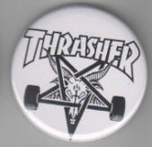 THRASHER big button