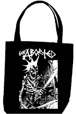 ABORTED SKULL tote