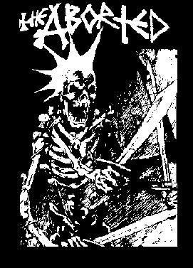 ABORTED SKELETON back patch