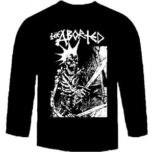 ABORTED SKULL long sleeve
