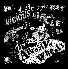 ABRASIVE WHEELS VICIOUS back patch