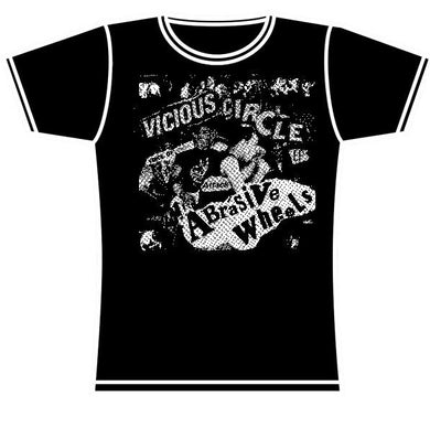 ABRASIVE WHEELS VICIOUS GIRLS TSHIRT
