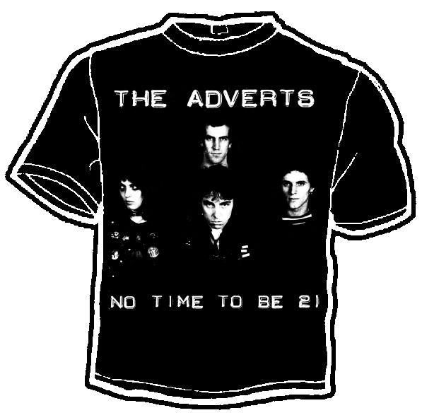 ADVERTS 21 shirt
