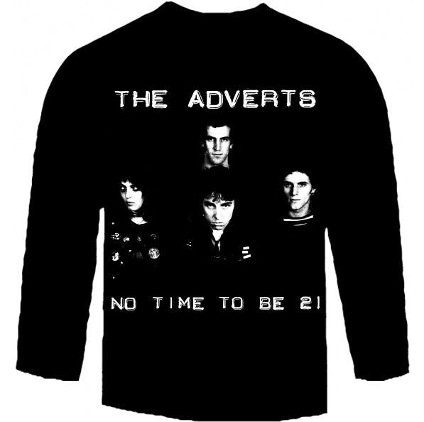 ADVERTS 21 long sleeve