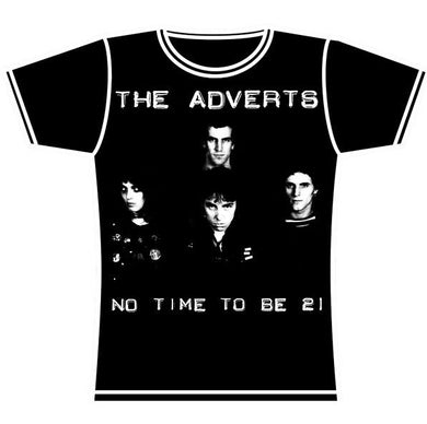 ADVERTS 21 GIRLS TSHIRT