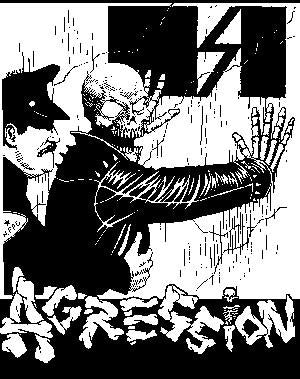 AGRESSION SKULL patch