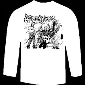 AGRESSION BAND long sleeve