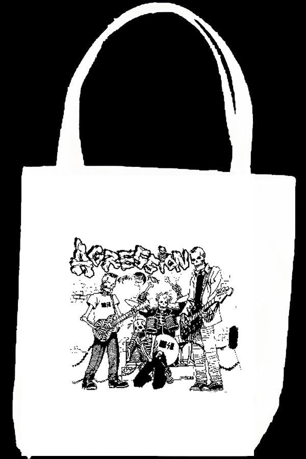 AGRESSION BAND tote