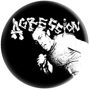 AGRESSION - LOGO big button