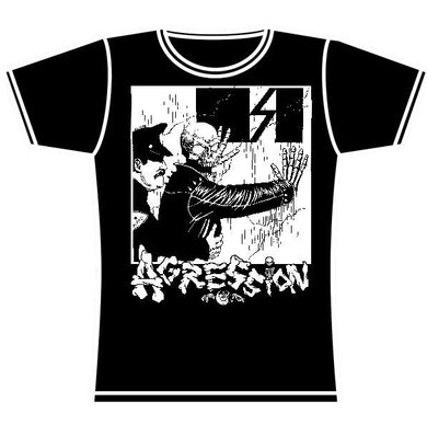 AGRESSION COP GIRLS TSHIRT