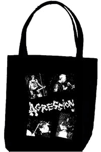 AGRESSION PIC tote