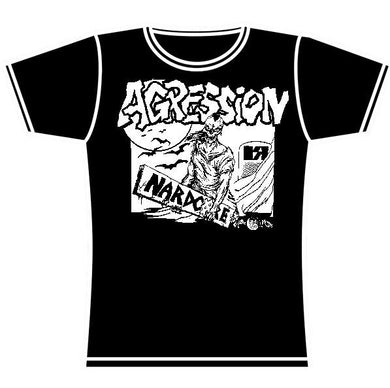 AGRESSION RAIL GIRLS TSHIRT