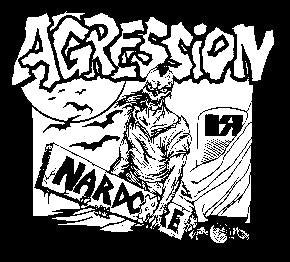 AGRESSION RAIL back patch