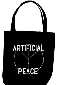 ARTIFICIAL PEACE tote
