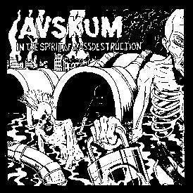 AVSKUM back patch