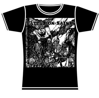 BATTALION OF SAINTS FIGHT GIRLS TSHIRT