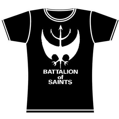 BATTALION OF SAINTS LOGO GIRLS TSHIRT