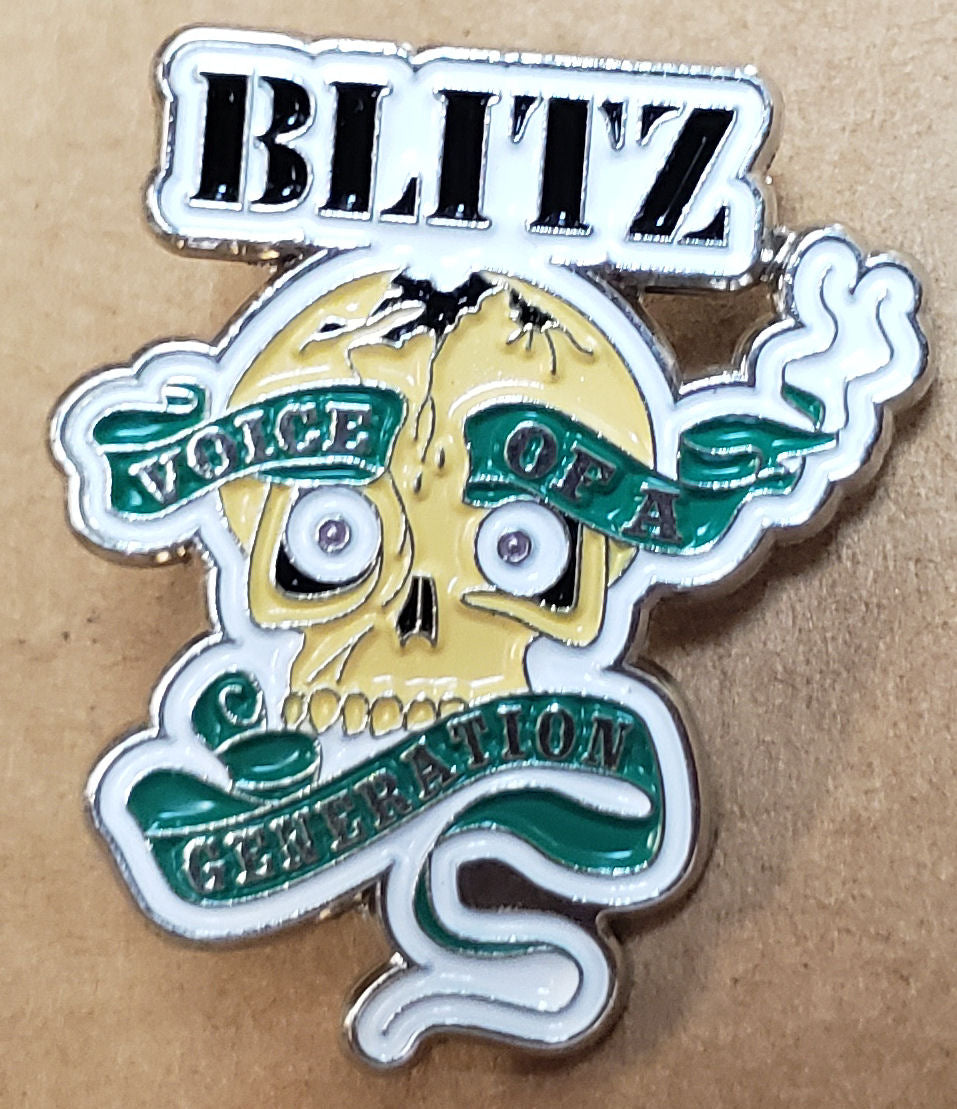 BLITZ ENAMEL BADGE