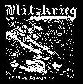 BLITZKRIEG back patch