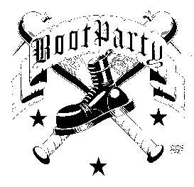 BOOT PARTY back patch