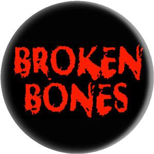 BROKEN BONES LOGO button