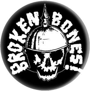 BROKEN BONES SKULL button