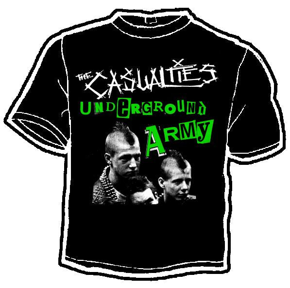 Casualties Underground Army shirt