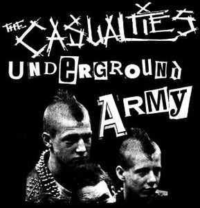 CASUALTIES UNDERGROUND ARMY patch