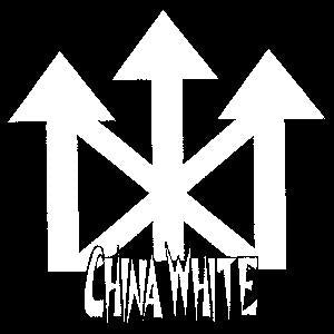CHINA WHITE sticker