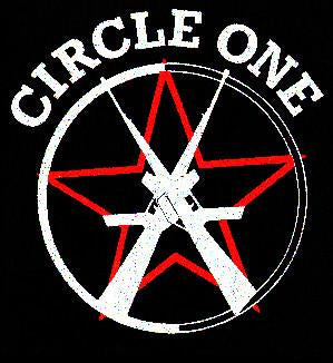 CIRCLE ONE LOGO back patch