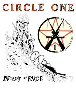 CIRCLE ONE PATTERNS back patch