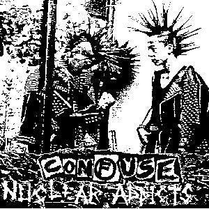 CONFUSE NUCLEAR sticker