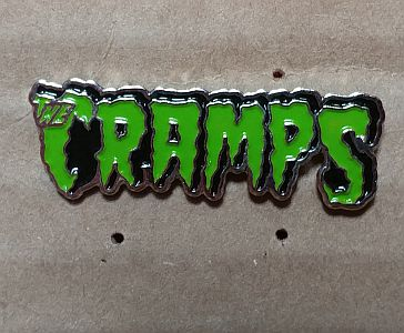 CRAMPS, THE ENAMEL BADGE