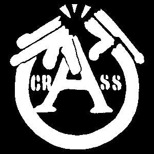CRASS GUN sticker