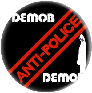 DEMOB POLICE button