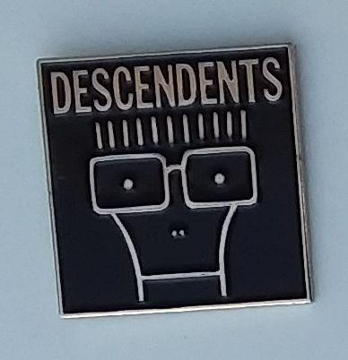 DESCENDENTS ENAMEL BADGE